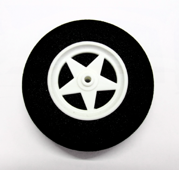 Light Foam Wheels 5 Spoke Wheels Shock Absorbing D65 x H18mm